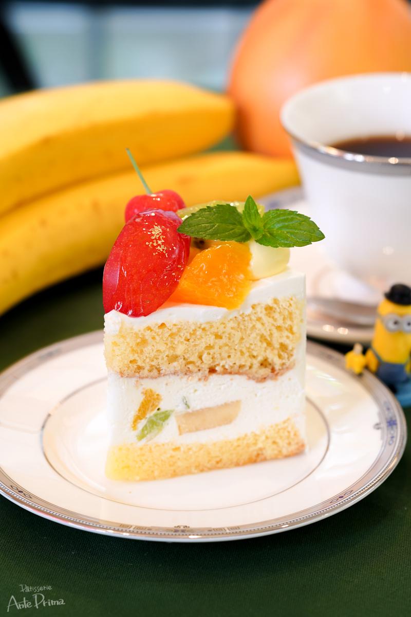 フルーツショートケーキ