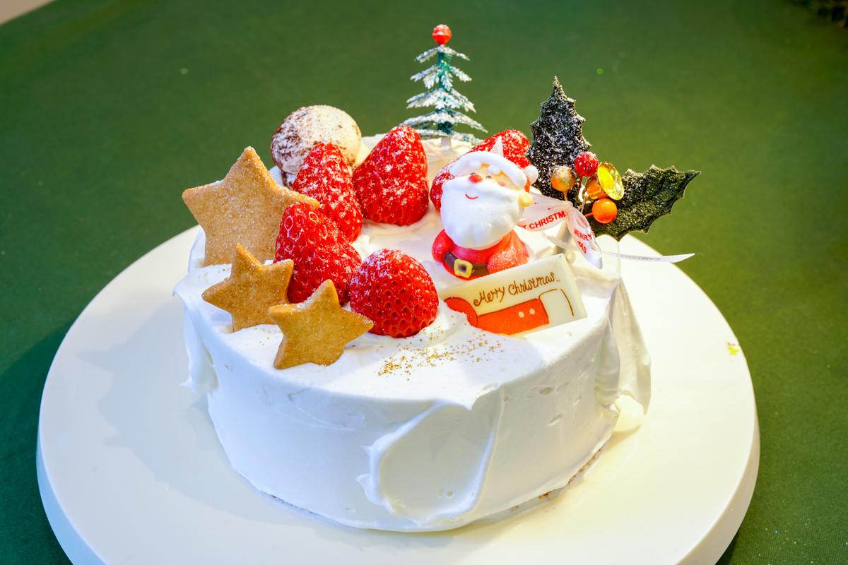 クリスマス生デコレーションケーキ