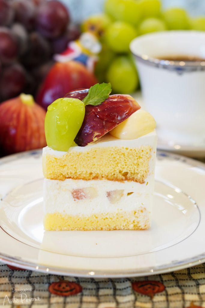 秋のショートケーキ